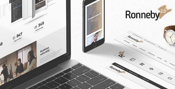 Ronneby - motyw WordPress o wysokiej wydajności