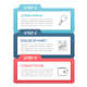 Infographic Template with 3 Steps - GraphicRiver Item for Sale