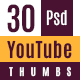 30 High Quality Youtube Thumbnails - GraphicRiver Item for Sale