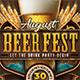 Beer Fest Night Flyer - GraphicRiver Item for Sale