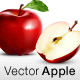 Photo Realistic Vector Apple - GraphicRiver Item for Sale