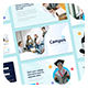 Campus - University & Education College Students PowerPoint Template - GraphicRiver Item for Sale