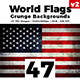 World Flags Grunge Backgrounds Set 2 - GraphicRiver Item for Sale