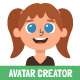 Children Avatar Creator Kit - GraphicRiver Item for Sale