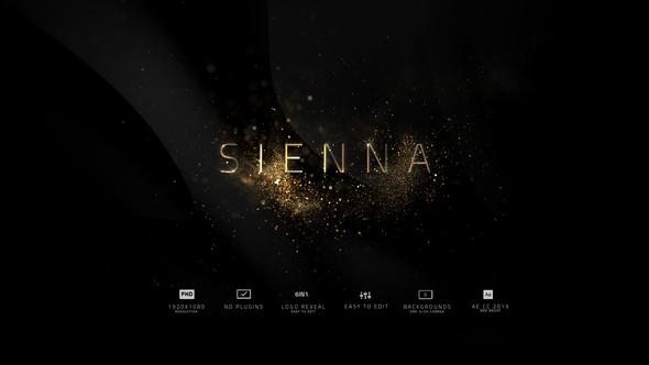 Sienna   Logo Reveal Pack 6in1