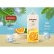 Orange Juice Poster with Ice Cubes Orange Fruit - GraphicRiver Item for Sale