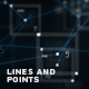 Lines And Points Background - VideoHive Item for Sale
