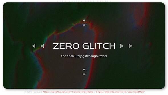 Zero Glitch Logo Reveal