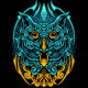Owl Bird With Full Ornament - GraphicRiver Item for Sale