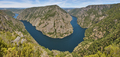 Ribeira sacra panoramic landscape. Vilouxe viewpoint, river Sil canyon. Spain - PhotoDune Item for Sale