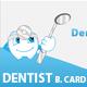 Business card for Dentist or Dental Institute - GraphicRiver Item for Sale