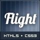 Flight - Responsive Fullscreen Background Template - ThemeForest Item for Sale