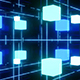 Glowing Cubes And Grid Loop - VideoHive Item for Sale