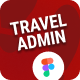 Travel Admin   Web App and Dashboard UI Figma Template - ThemeForest Item for Sale