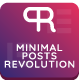 Minimal Posts Revolution For Elementor WordPress Plugin - CodeCanyon Item for Sale