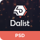 Dalist - Directory Listing PSD Template - ThemeForest Item for Sale