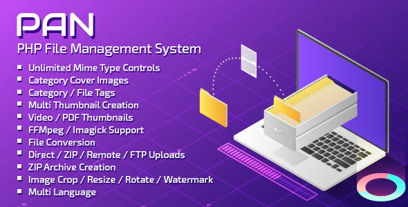 PAN Advanced PHP File Manager