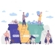 People Sorting Garbage Protecting Environment - GraphicRiver Item for Sale