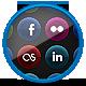 Vibrant Velvet - Social Media Icons - GraphicRiver Item for Sale