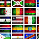 African Grunge Flags Backgrounds Part 1 - GraphicRiver Item for Sale