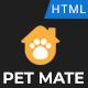Petmate - Animal Care Center HTML5 Template - ThemeForest Item for Sale