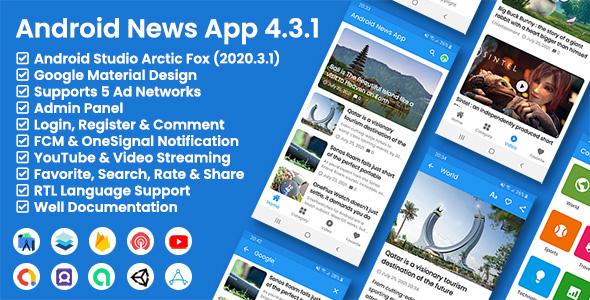 Aplikacja Android News