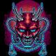 Devil Mask Japan Illustration - GraphicRiver Item for Sale