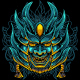 Devil Mask Samurai - GraphicRiver Item for Sale