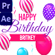 Happy Birthday Colorful Slideshow - VideoHive Item for Sale
