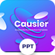 Causier - Corporate Powerpoint Templates - GraphicRiver Item for Sale