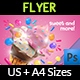 Ice Cream Flyer Template Vol.6 - GraphicRiver Item for Sale