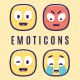 30 Emoticons Vector Pack - GraphicRiver Item for Sale