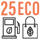 25 Ecology Environment Line Icon Set - GraphicRiver Item for Sale