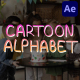 Cartoon Alphabet   After Effects - VideoHive Item for Sale