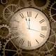 Hall Clock Ticking