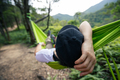 Relaxing in hammock in tropical rainforest - PhotoDune Item for Sale