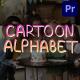Cartoon Alphabet   Premiere Pro MOGRT - VideoHive Item for Sale