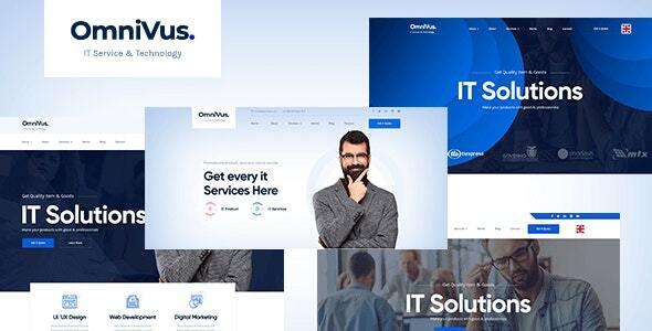Omnivus - IT Solutions & Services WordPress Theme