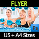 Water Aerobics Flyer Templates - GraphicRiver Item for Sale