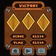 Medieval Puzzle Gems Game UI - GraphicRiver Item for Sale