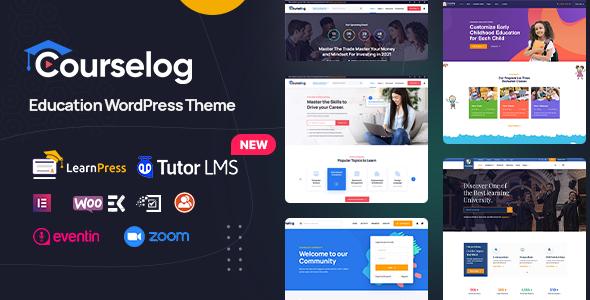 Courselog - Education WordPress Theme