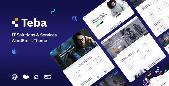 Teba - IT Solutions & Services WordPress Theme
