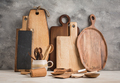 Collection of wooden kitchen utensils - PhotoDune Item for Sale