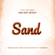 Sand Text Effect - GraphicRiver Item for Sale