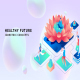 Healthy future - Isometric Concept - VideoHive Item for Sale