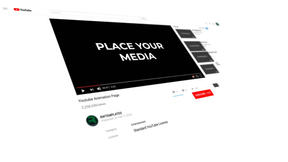 Subscribe To The YouTube Channel Intro