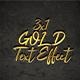 3x1 Gold Text Effect Bundle - GraphicRiver Item for Sale