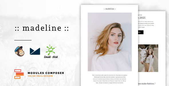 Download Madeline - E-commerce Responsive Email Template Nulled