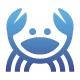 Geometric Crab Logo - GraphicRiver Item for Sale