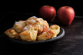 Homemade small apple turnovers in bowl - PhotoDune Item for Sale